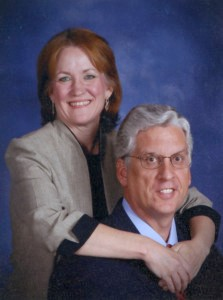 Pastor John Richards and wife Shellie